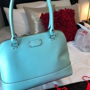 Turquoise Kate Spade Tote